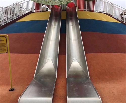 不锈钢滑梯-半桶滑梯