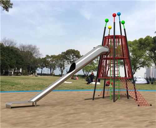 不锈钢滑梯-造型滑梯